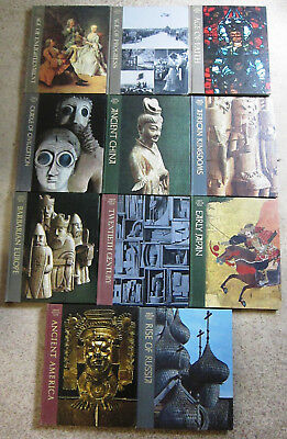 Time Life books- 11 volumes of the Great Ages of Man- Early Japan, Age of Faith