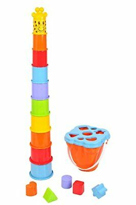 PlayGo Stacking Cup With Shape Sorter