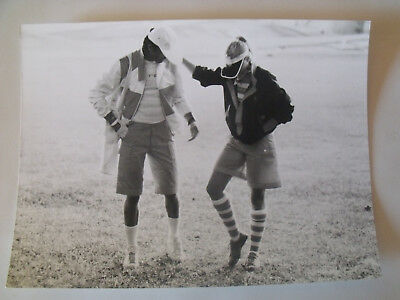▬►1977 PHOTO de Presse ORIGINALE (KNAPP) Ensemble COURREGES Mode Fashion Vintage