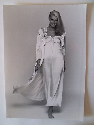 ▬►1978 PHOTO de Presse ORIGINALE Déshabillé DIOR Mode Fashion Vintage