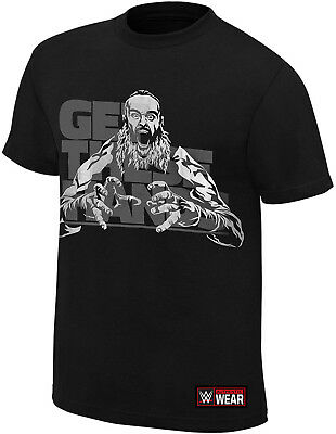 WWE BRAUN STROWMAN Get These Hands Reflective OFFICIAL AUTHENTIC T-SHIRT