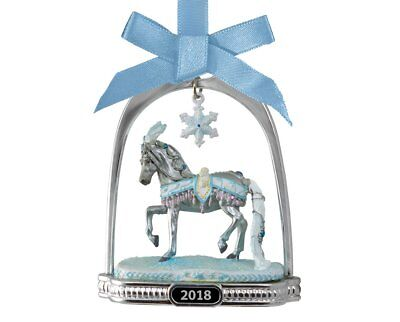 Breyer 2018 Celestine Holiday Horse Stirrup Ornament~19th in Series~NIB! <><