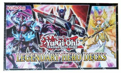 Yu-Gi-Oh! Legendary Hero Decks - deutsch