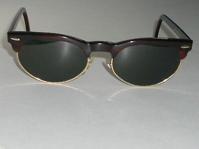 856c675a6cee37 Bausch   Lomb Ray-Ban W1267 G15 Tortue or Mélange Oval Clubmaster Lunettes  de