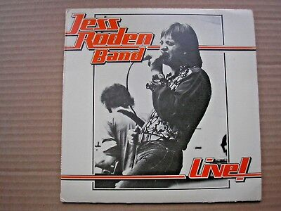 "JESS RODEN BAND Live EP UK 7"" single PS 1976 vg/ex"