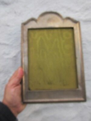 Old Silver Hallmarked  Picture Frame , No Glass