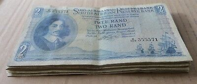 *Bulk Buy* South Africa Large 2 rand 1961/2 x 15 VF. JO-6021