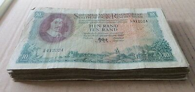 *Bulk Buy* South Africa Large 10 rand 1961/2 x 40 Fine. JO-6023