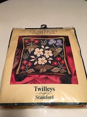 Vintage Twilleys Of Stamford Cushion Collection Tapestry Kit Garden Flowers