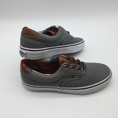 96def9c1fa VANS ERA 59 (C L) Black Stripe Denim Skate Shoes Men s Size 8 ...