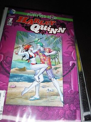 DC Comics - The New 52 Future's End - Harley Quin #1 -Lenticular