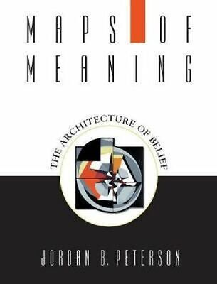NEW Maps of Meaning By Jordan B. Peterson Paperback Free Shipping