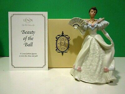 LENOX BEAUTY OF THE BALL Fashion Figurine sculpture NEW in BOX with COA
