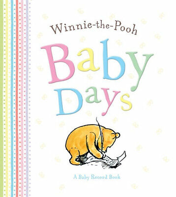 NEW Winnie-The-Pooh Baby Days Record Book Free Shipping