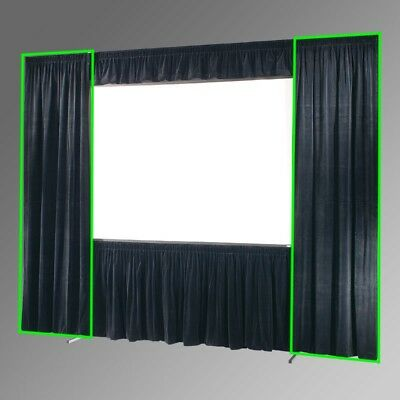 DRAPER 220295 - IFR SIDE/WING DRAPES FOR 83x144 UFS ULTIMATE FOLDING SCREEN