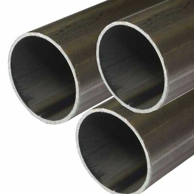 E.R.W. Steel Round Tube 1.000 (1 inch) OD, 0.065 inch Wall, 48 inches (3 Pack)