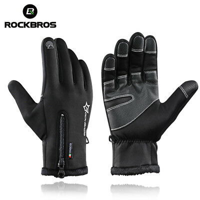 RockBros Wasserdicht Thermo Winter Handschuhe Finger Touch Sport Warm Gloves LOT