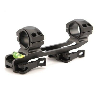 Quick Release 25.4/30mm Ring QD Scope Mount 20mm Picatinny Rail for rifle Alum