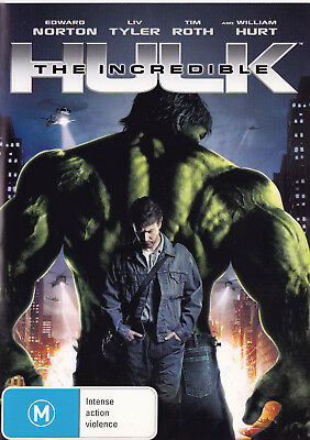 THE INCREDIBLE HULK Edward Norton DVD R4 - PAL   SirH70