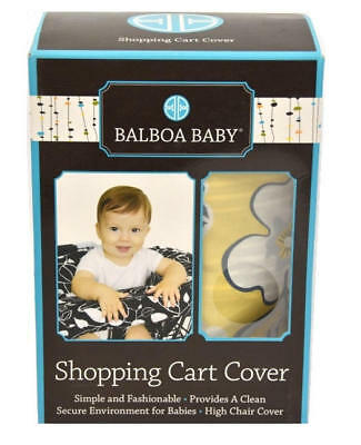 Balboa Baby Shopping Cart & High Chair Cover - Yellow Floral