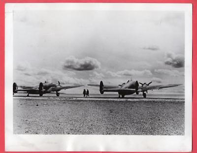 1941 RAF Ferry Command to Fly Lockheed Hudson Bombers to England 7x9 News Photo