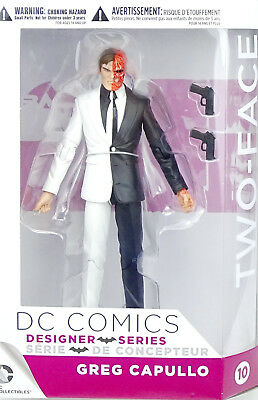 """DC COMICS DESIGNER SERIES TWO-FACE by GREG CAPULLO  5""""/ ca.16 cm DC COLLECTIBLES"""