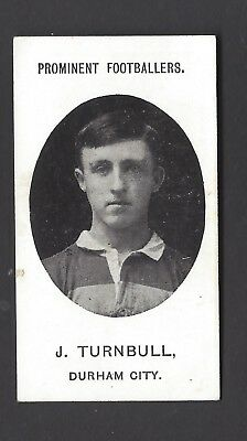 Taddy - Prominent Footballers (No Footnote) - J Turnbull, Durham City