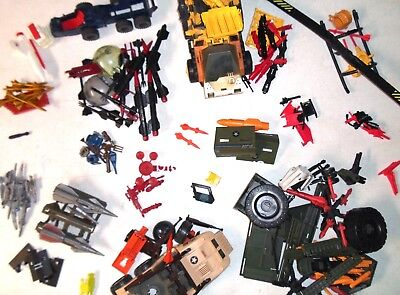 GI Joe A Real American Hero 1988 Vehicle & Playset Parts [YOUR CHOICE / PICK]