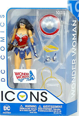 "DC COMICS ICONS - WONDER WOMAN THE AMAZO VIRUS - 5"" / ca.16 cm DC COLLECTIBLES"
