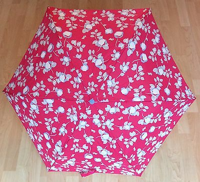 Radley Compact Pink Telescopic Umbrella Brand New With Tags