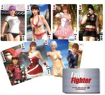 dead or alive DOA 5 official playing cards set trump kasumi