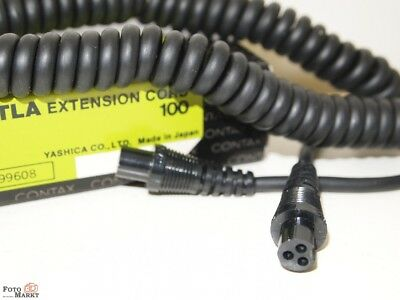Contax Tla Extension Cord 100 (Code No. 99608) Flash Cable Flash Cable
