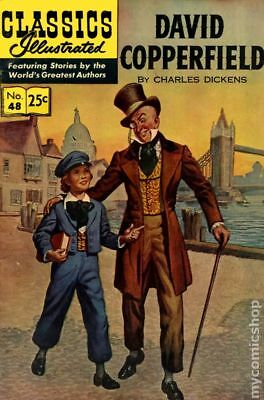 Classics Illustrated 048 David Copperfield #13 1967 VG Stock Image Low Grade