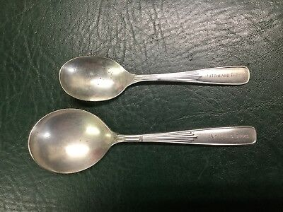 Two Antique Arnbe Reed & Barton Vendome Silverplate Spoons ~ Dutchland Farms
