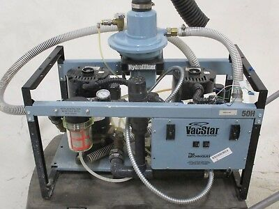 Air Techniques VacStar 50m Dental Vacuum Pump System for Operatory Suction