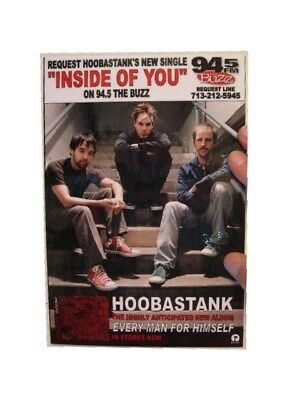 Hoobastank Laminated Stand Poster Inside Of You