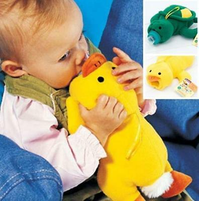Kawaii Baby Feeding Bottle Plush Pouch Cartoon Animal Covers Holders Bag LC
