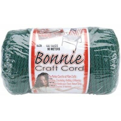 Pepperell Polyolefin Fiber Bonnie Macrame Craft Cord 6 Mmx 100 Yard-forest -