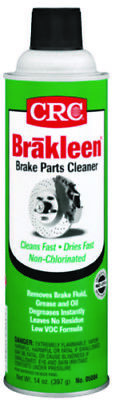 CRC Marine Brakleen Brake Parts Cleaner 14 Ounces Non-Chlorinated