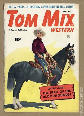 Tom Mix Western (Fawcett) #37 1951 GD+ 2.5