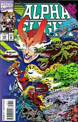 Alpha Flight (1st Series) #123 1993 FN Stock Image