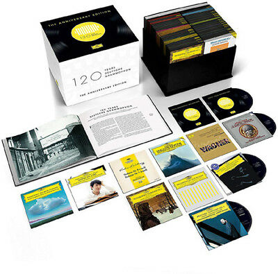 Various Artists - 120 Years of Deutsche Grammophon [New CD] Boxed Set