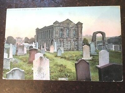 Coldingham Priory  from  N.W.  USED   1905 & Stamp  VERY  CLEAN
