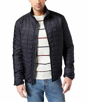 Tommy Hilfiger Mens Platinum Insulator Quilted Jacket
