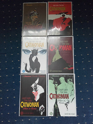 Catwoman: When in Rome No.s 1-6, complete mini-series, bagged & boarded!