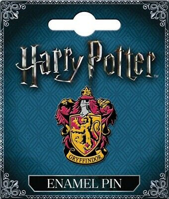 Harry Potter House of Gryffindor Crest Logo Metal Enamel Pin Thick NEW UNUSED
