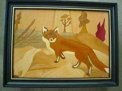Inlaid picture - Fox1