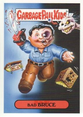 2018 Garbage Pail Kids Oh The Horror-ible #80H-11b Bipolar Bruce