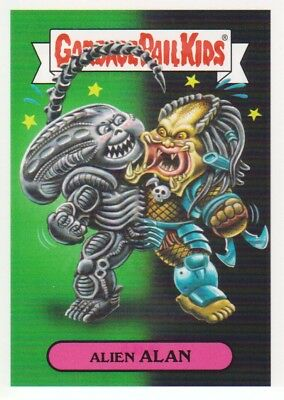 2018 Garbage Pail Kids Oh The Horror-ible #MSF-1a Alien Alan