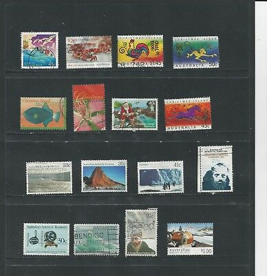 Australia Dependencies - Collection Of Used Stamps (1 Scans) - #aus76